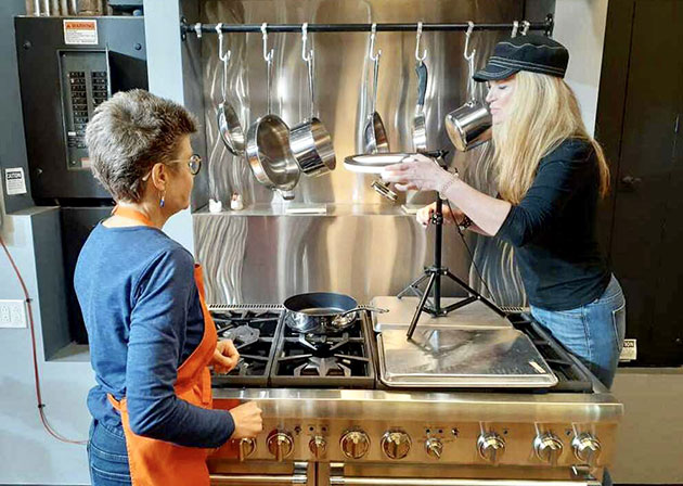 demand for online cooking classes